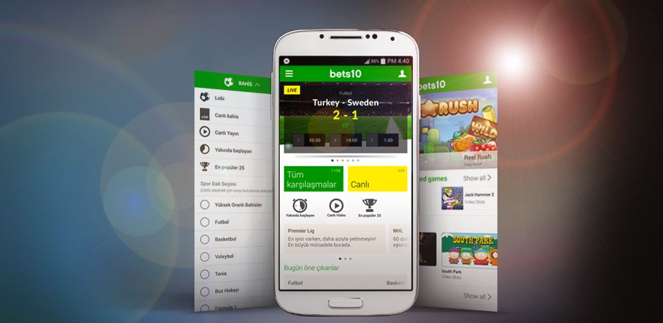 Bets10 mobil site